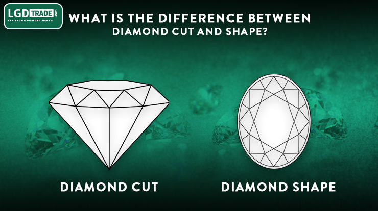 diamond cut and shapes