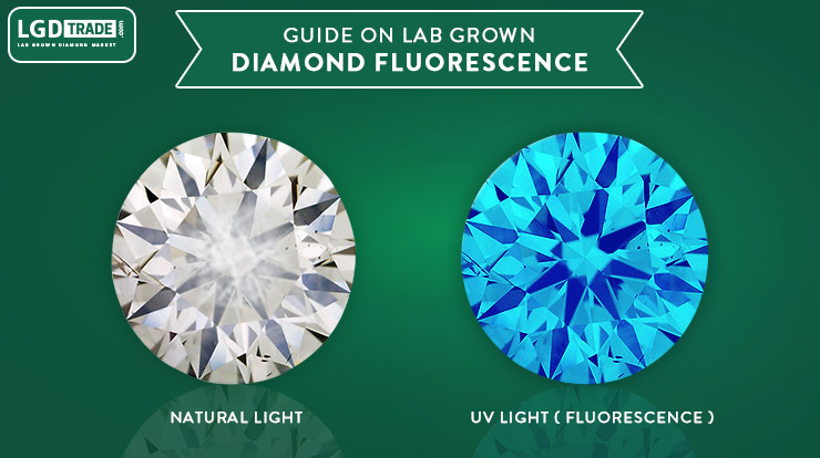 lab grown diamond fluorescence